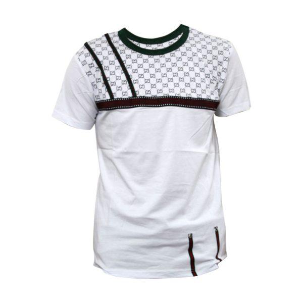 White Mens Sports Wear-JJsoftwear
