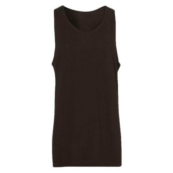 Black Mens Tank tops-JJsoftwear