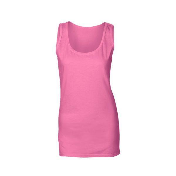 womens rose vest tank tops-JJsoftwear
