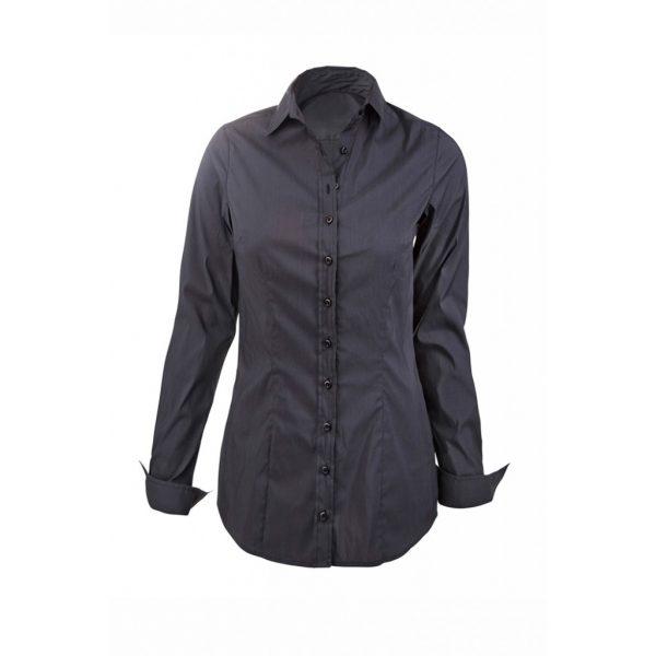 Black Womens Shirts-JJsoftwear