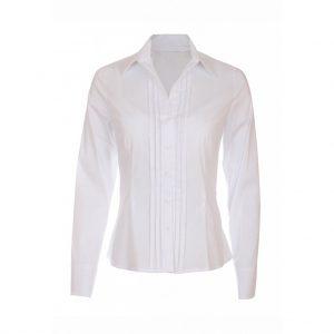 White Womens Shirts-JJsoftwear