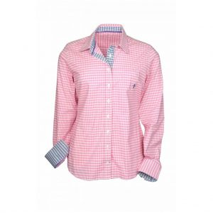 Checked Womens Shirts-JJsoftwear