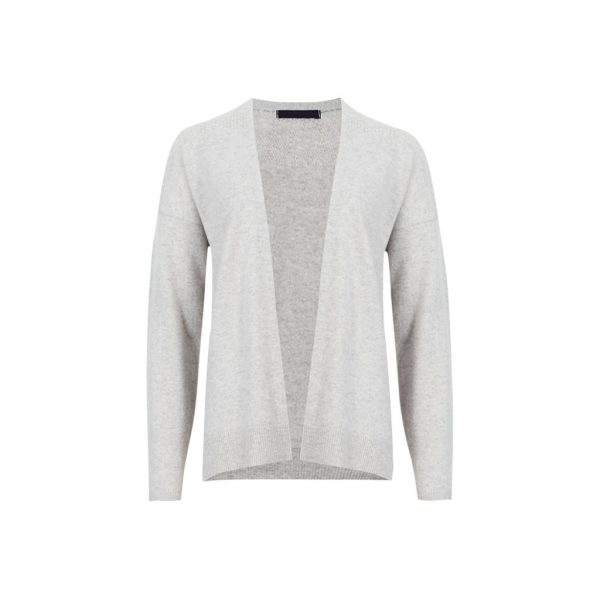 Silver Womens Cardigans-JJsoftwear