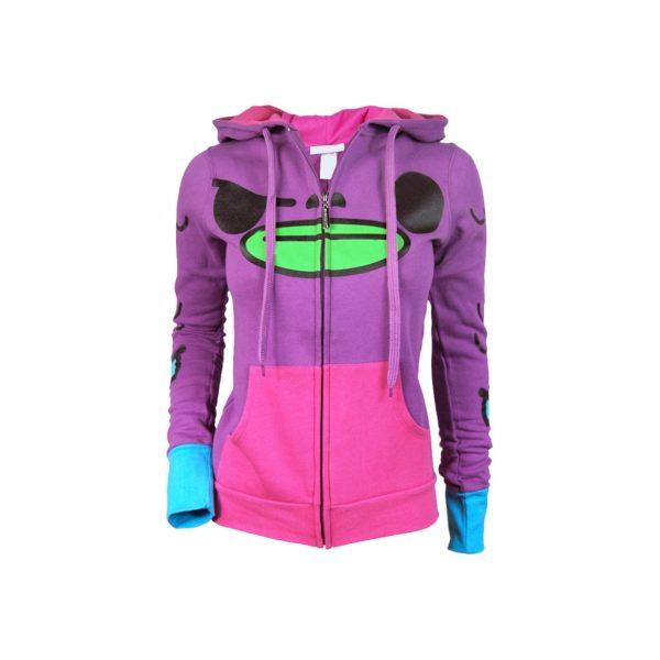 Violet Womens Hoodies - Sweat-JJsoftwear