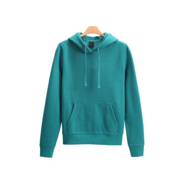 Blue Womens Hoodies - Sweat-JJsoftwear