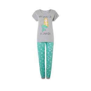 Ash and Green Womens Pyjama-JJsoftwear