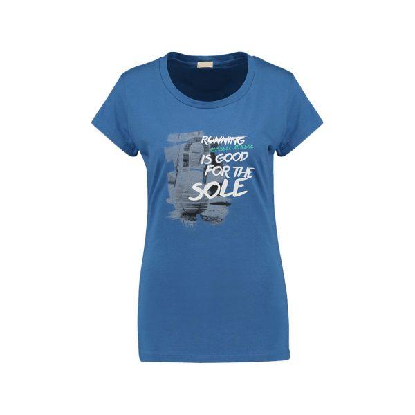Blue Womens Sports Wear-JJsoftwear