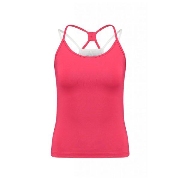 Red Womens Sports Wear-JJsoftwear
