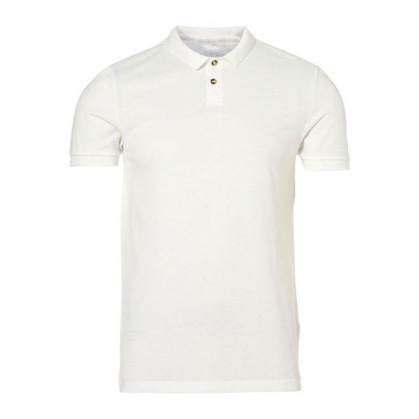 White With Collar Men's T-Shirts-JJsoftwear