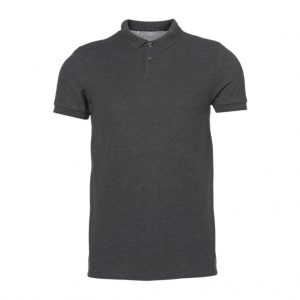 Black With Collar Men's T-Shirts-JJsoftwear