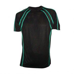 Black And Green Mens Sports Wear-JJsoftwear